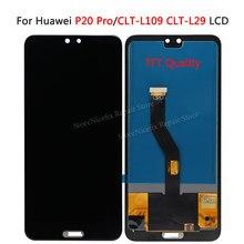 "Tft 6.1 ""Lcd Voor Huawei P20 Pro Lcd Display Met Frame Digitizer Vergadering Screen Touch P20 Pro CLT AL01 Lcd p20 Plus Display"