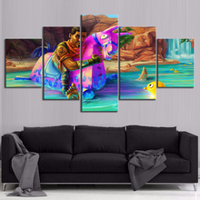 5 Piece GAMING Enforcer Poster on Canvas for Home Decor F5V5