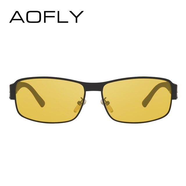 AOFLY Night Vision Glasses Brand Design Polarized Sunglasses Women Men Driving Anti-Glare Goggles AF8045 2