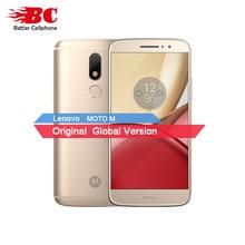 Original Motorola Moto M XT1662 Mobile Phone 4G LTE MTK Helio P10 Octa Core 5.5″ 4G RAM 32G ROM Android 6.0 16.0 PM Smartphone