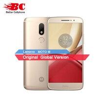 "D'origine Motorola Moto M XT1662 Mobile Téléphone 4G LTE MTK Helio P15 Octa Core 5.5 ""4G RAM 32G ROM Android 6.0 16.0 PM Smartphone"
