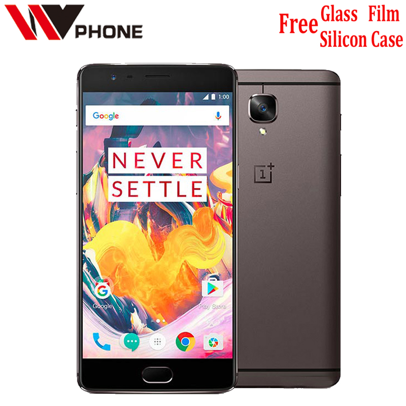 "Oneplus 3t A3010 One plus 3  LTE 4G Mobile Phone Snapdragon 821 5.5"" Android 6.0  6G RAM 64/128G ROM 16MP Fingerprint ID NFC"