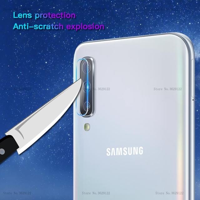 For Samsung Galaxy A50 A30 A10 A70 A20e Camera Lens Screen Protector Film on A 50 30 70 M10 M20 M30 S10 Plus S10e Back Lens Film