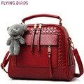 Летящие птицы! Женщины кожаная сумка женщин сумки на ремне , высокое qaulity сумки bolsas сумки элегантная сумка LS8990fb