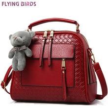 FLYING BIRDS! women leather handbag women bags shoulder bag high qaulity handbags bolsas messenger bags elegant pouch LS8990fb