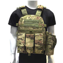 Military CS Field 6094 Tactical Vest Outdoor Equipment Army Combat Training Vest Airsoft Paintball Protective Vest 6 Colors multifunctional clothing stab stab tactical vest cs field outdoor photography vest fishing