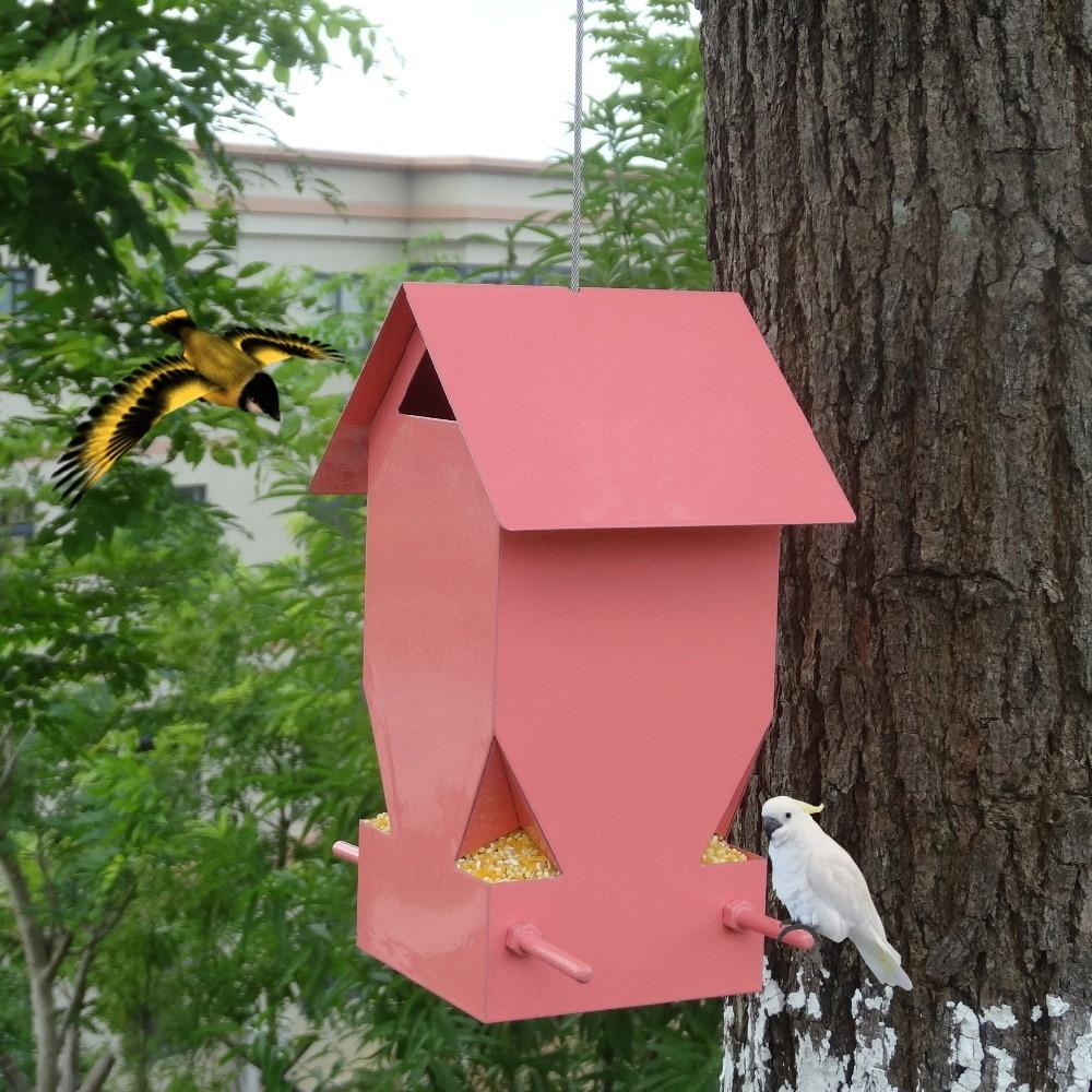 Mangeoire pour oiseaux sauvages de style européen mangeoire pour oiseaux en plein air