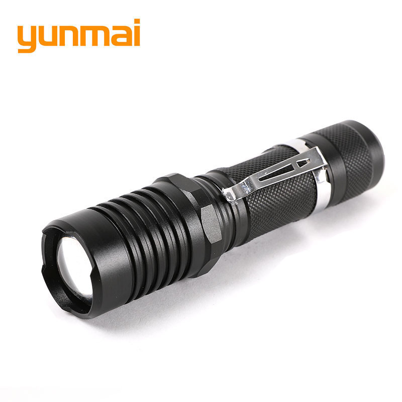 yunmai Super Bright 5 Modes XML T6 10000LM Zoom Led Flashlight Waterproof Torch Lights lanterna for Camping Hiking Hunting trustfire x100 super led torchlight 8000 lumens waterproof led flashlight 5 modes outdoor hiking hunting camping led torch