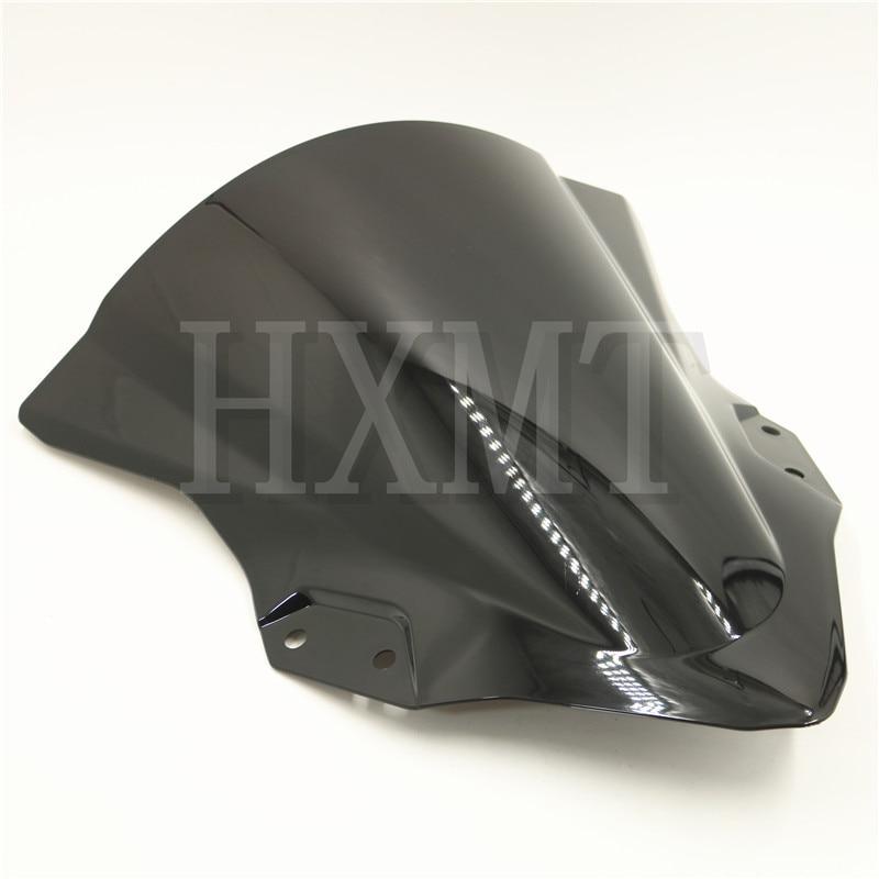 For Kawasaki Ninja 250 400 2018 2019 EX400 Ninja250 Ninja400 Black Motorcycl Windshield WindScreen Wind Screen Bike EX250