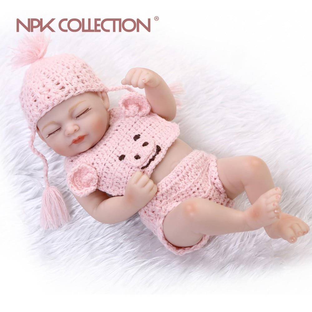Realistic soft Anatomically Correct 10 reborn Baby Girl doll citizen correct d 316