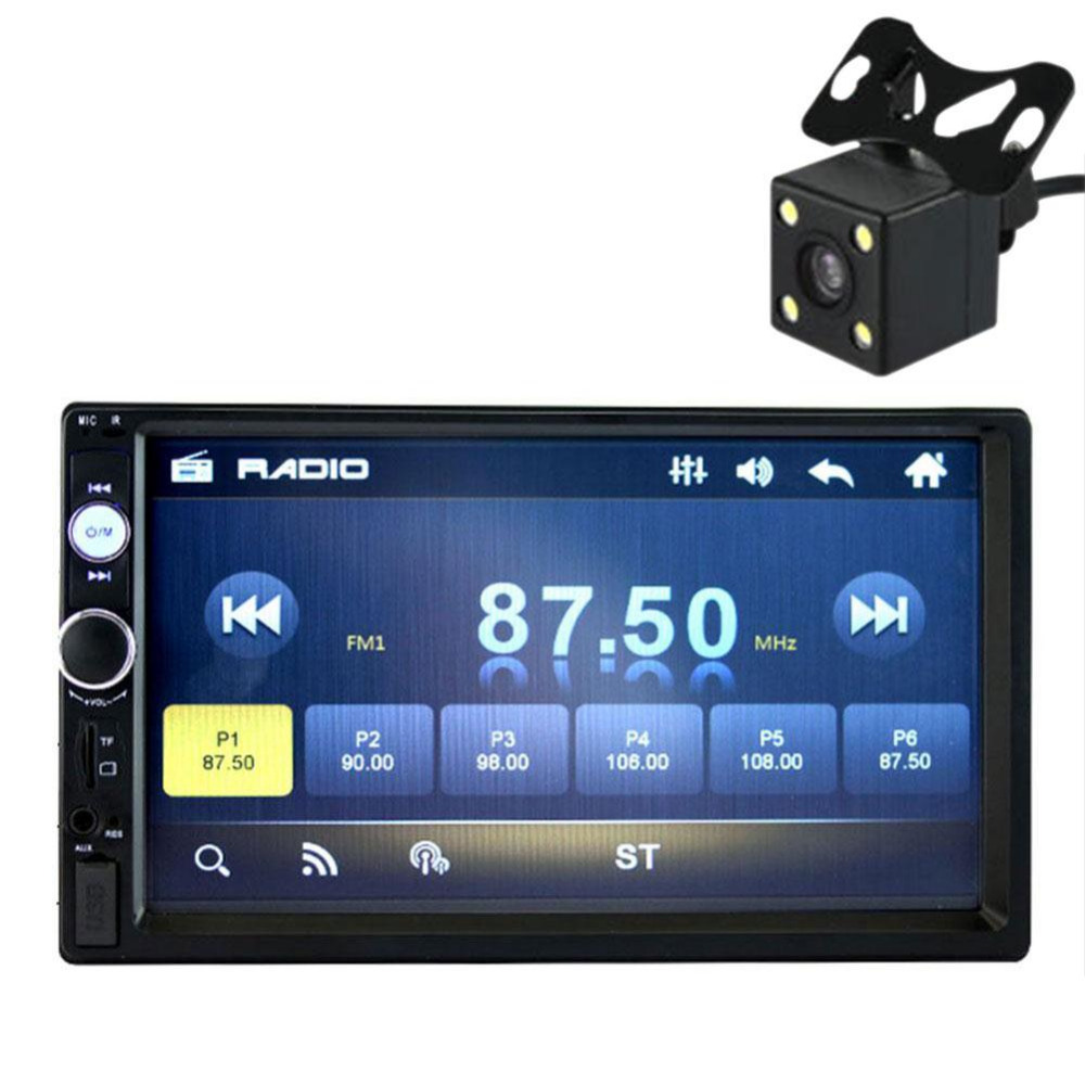 7 Inch Touch Screen Car Stereo Radio 2 DIN MP5 Player With