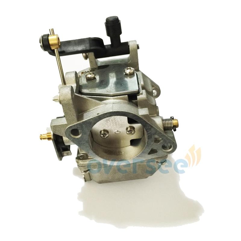 61N 14301 01 or 61T 14301 00 Carburetor Assy For Yamaha Old Model 61N 61T 25HP 30HP Outboard Engine Boat Motor Aftermarket parts