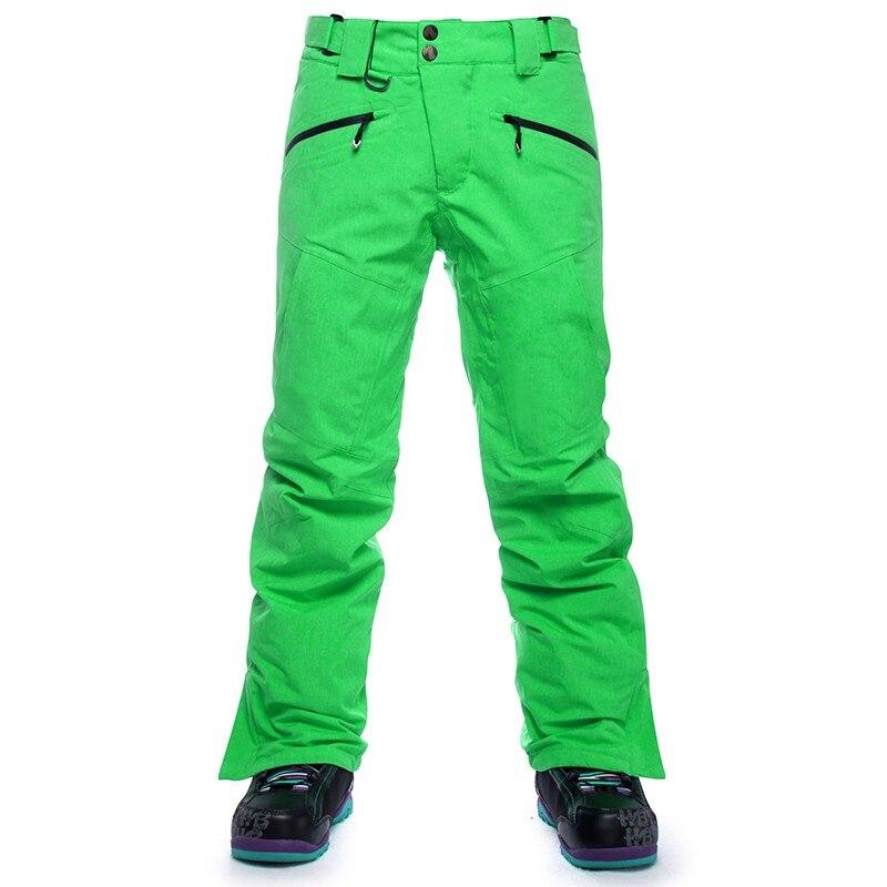 SAENSHING-30 degrés hommes Snowboard pantalon hommes ski pantalon imperméable 10 K respirant hiver neige pantalon hommes marque Ski ski pantalon - 5