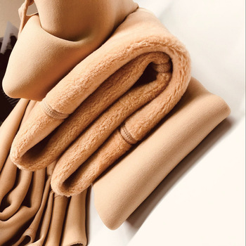 цена Autumn 2020 New Plus Cashmere Fashion Leggings Women Girls Warm Winter Bright Velvet Knitted Thick Legging Super Elastic Pants онлайн в 2017 году
