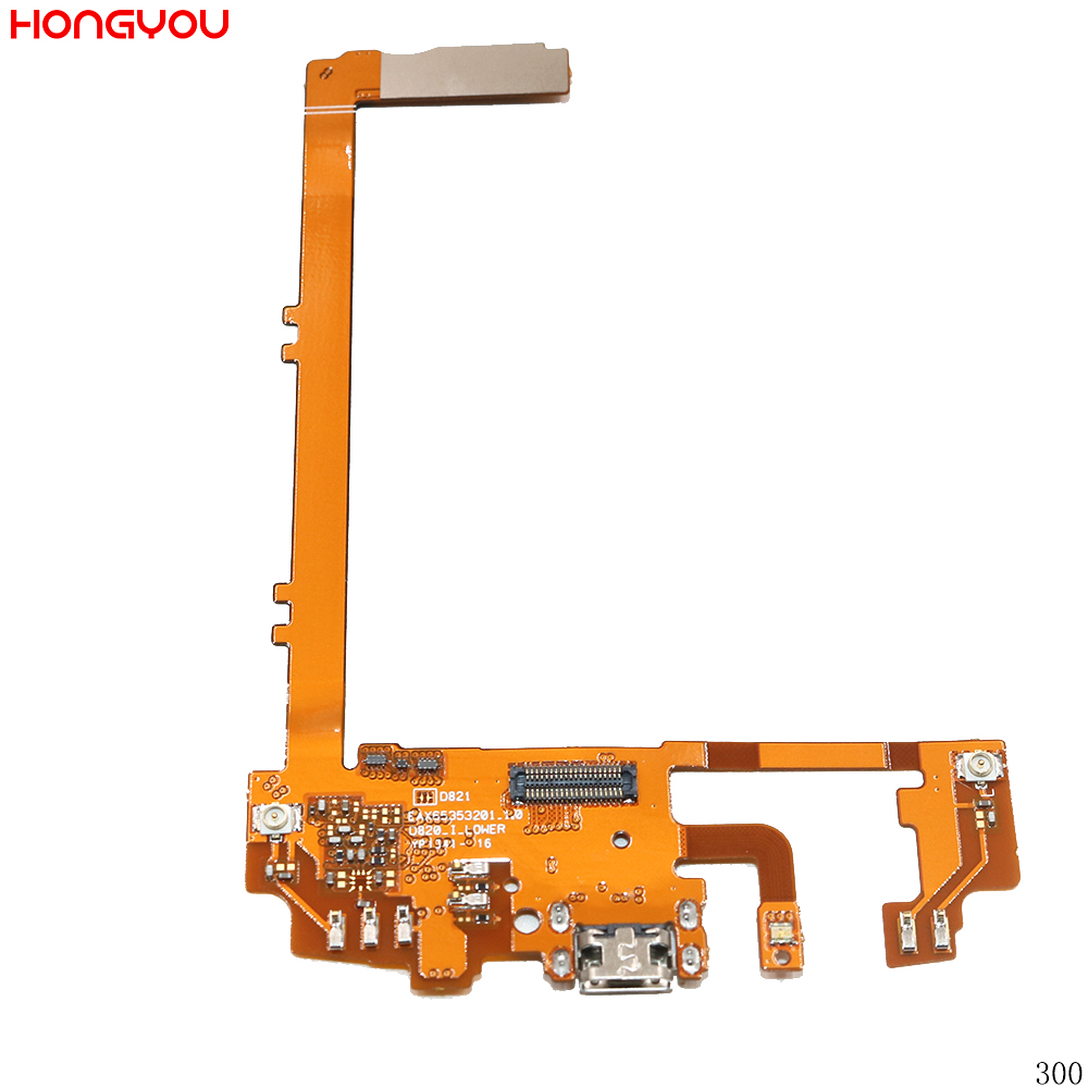 For LG Nexus 5 D821 D820 USB Charging Port Charge Dock Connector Flex Cable With Microphone Mic