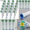 4 8 16 24 Pcs EB-18A Rotary cabeça escova de Higiene Oral B escova de Dentes Elétrica Cabeças de Substituição para Braun Oral Cerdas Macias Família uso