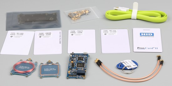 Proxmark3 V2.0 Kits RFID Cloner Programmer Copier Reader Writer Card Duplicator UID EM4305 T5577 NFC Clone Proxmark 3 Crack w Czytniki kart kontrolnych od Bezpieczeństwo i ochrona na  Grupa 1