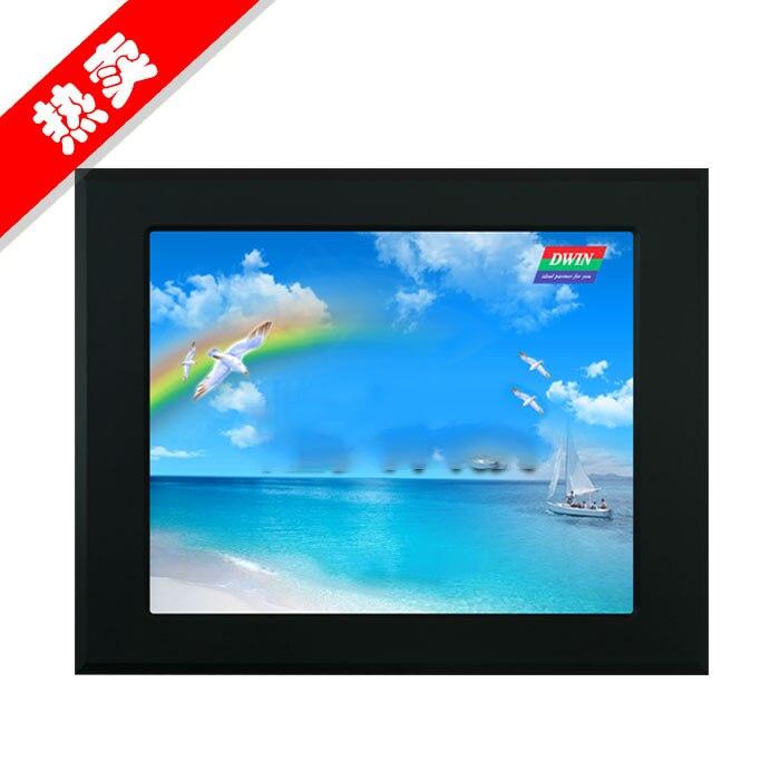 Здесь можно купить  DMT80600T080_18WT 8 inch DIV serial port screen DGUS industrial touch screen HMI man-machine interface configuration  Компьютер & сеть