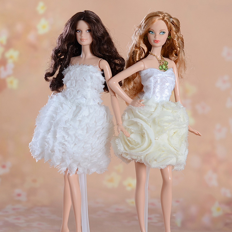 Autonomous design handmade Presents For Women Doll Equipment Night Go well with Marriage ceremony Costume Garments For Barbie 1:6 Doll BBI0095