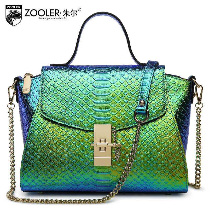ZOOLER2016 new high quality fashion luxury brand diagonal handbag genuine leather bag counter genuine female well