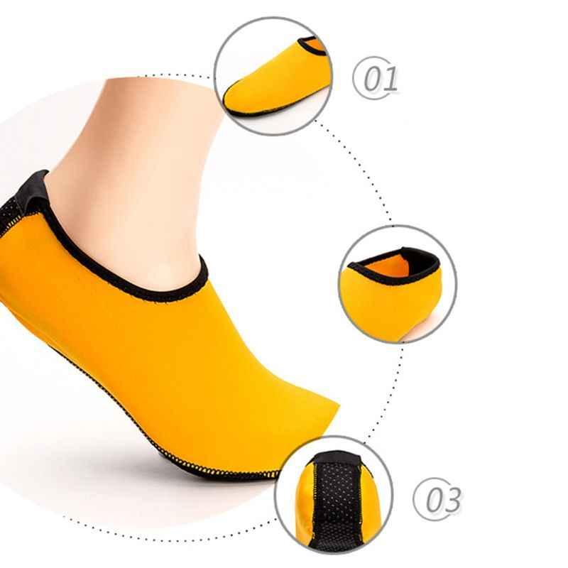 1 paar Unisex Dunne Stretchy Duiken Outdoor Sportschoenen Flexibele Ademende Anti Slip Sokken Surfen Yoga Waterdichte Lichtgewicht