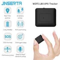 JINSERTA Mini GPS Tracker Waterproof Without Installation Personal Locator Tracking Anti-theft Remote Hearing Monitoring