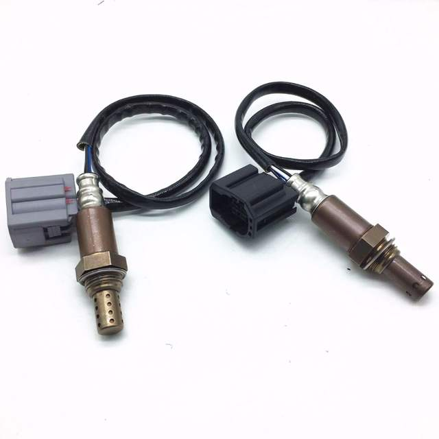 US $68 0 |850mm Oxygen Sensor For Mazda 2 1 5L model 2005 2 pcs Bank 1 Bank  2 Oxygen O2 Sensor with Connector Lambda Auto Parts Sensors-in Exhaust Gas