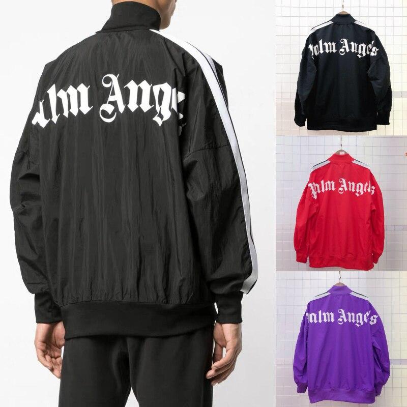 19ss Palm Angels Jackets Men Women Windbreaker Veste Hommesunscreen Quick Drying Streetwear Bomber Palm Angels Camouflage Jacket
