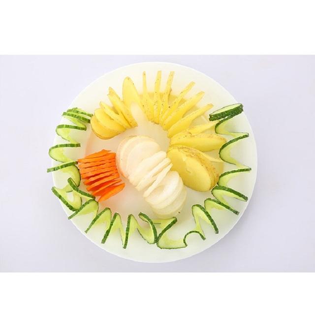 Manual Spiral Potato Cucumber Cutter Multi functional