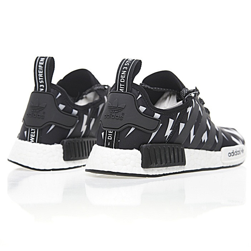 Adidas Neil Barrett X Adidas NMD R 1 Boost ,Authentic Women's Comfort Lifestyle Running Shoes,Women's Sneakers, Black BA7561-in Running Shoes from Sports ...