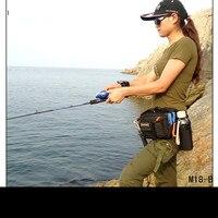 M18 High End Tách Ngoài Trời Eo Gói Leg Túi Messenger Mồi Câu Cá Giải Quyết Túi 2000D Nylon