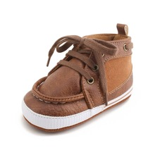Baby Sneakers Leather Shoes Crib Toddler Soft Sole Infant Prewalker