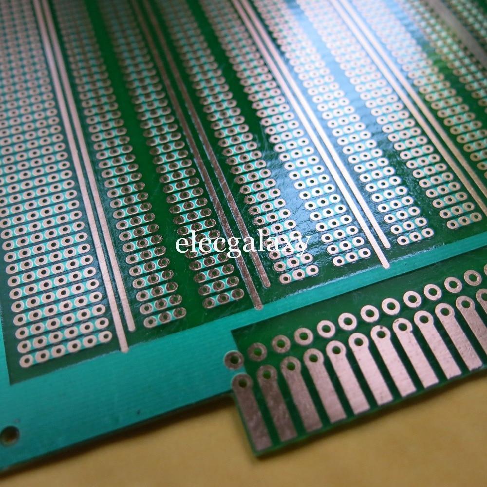 Stripboard circuit board 150x185mm pcb 3//6er joint hole prototyping breadboard