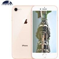 Original Apple iPhone 8 Unlocked Fingerprint Cellphone 2G RAM 64GB/256GB ROM 4G LTE 4.7''12.0 MP Camera Hexa-core IOS 1