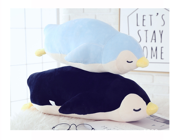 one piece snall cute plush penguin toy soft penguin doll gift about 50cm 2660