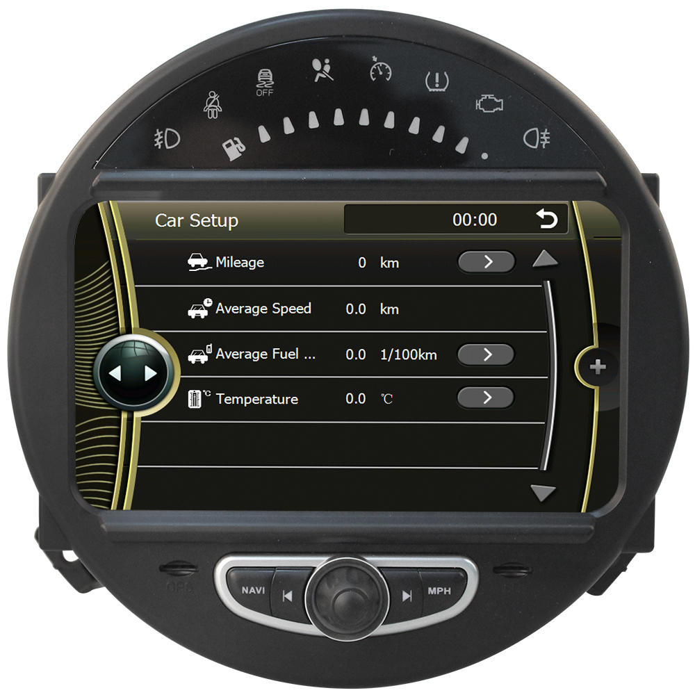 gps navigation autoradio dvd for mini cooper 2006 2013 with bluetooth ipod rds usb sd. Black Bedroom Furniture Sets. Home Design Ideas
