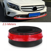 Universal Car Protector Front Bumper Lip Splitter Body Kit Bumpers Valance Chin Accessories High Quality Car