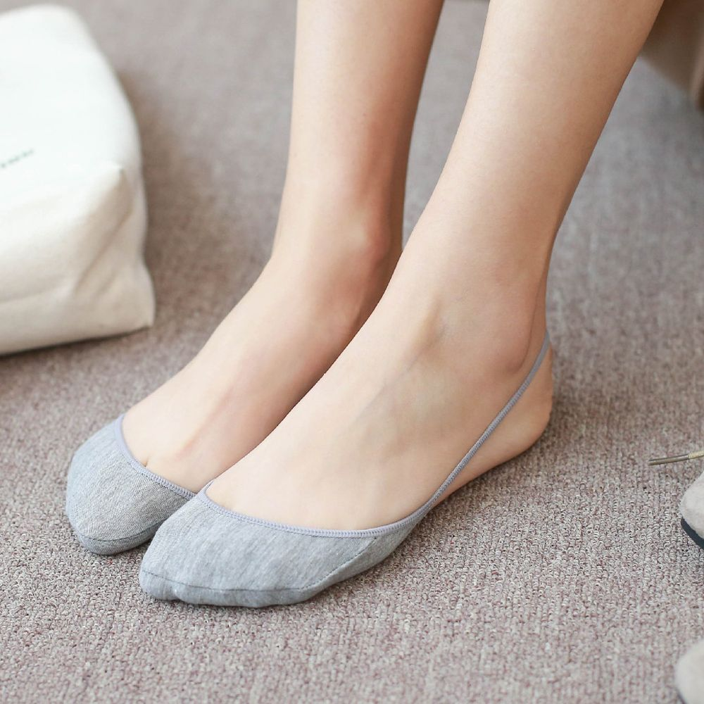 1Pair Of Invisible Toe Socks To Comfortable Wear For Sneakers And Loafers 5