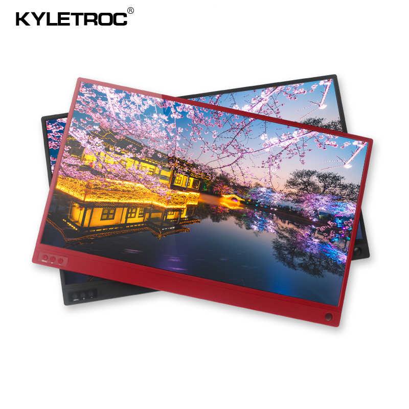 شاشة تعمل باللمس المحمولة سامسونج 15.6 بوصة 1080P IPS HD USB نوع C ديسبالي للهاتف المحمول XBOX التبديل و PS4
