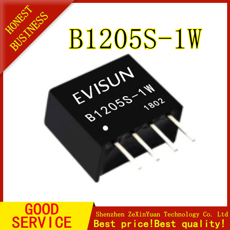 1PCS B1205S-1W Module B1205S-1WR2 B1205S-1W B1205S SIP-4 DC-DC 12V 5V