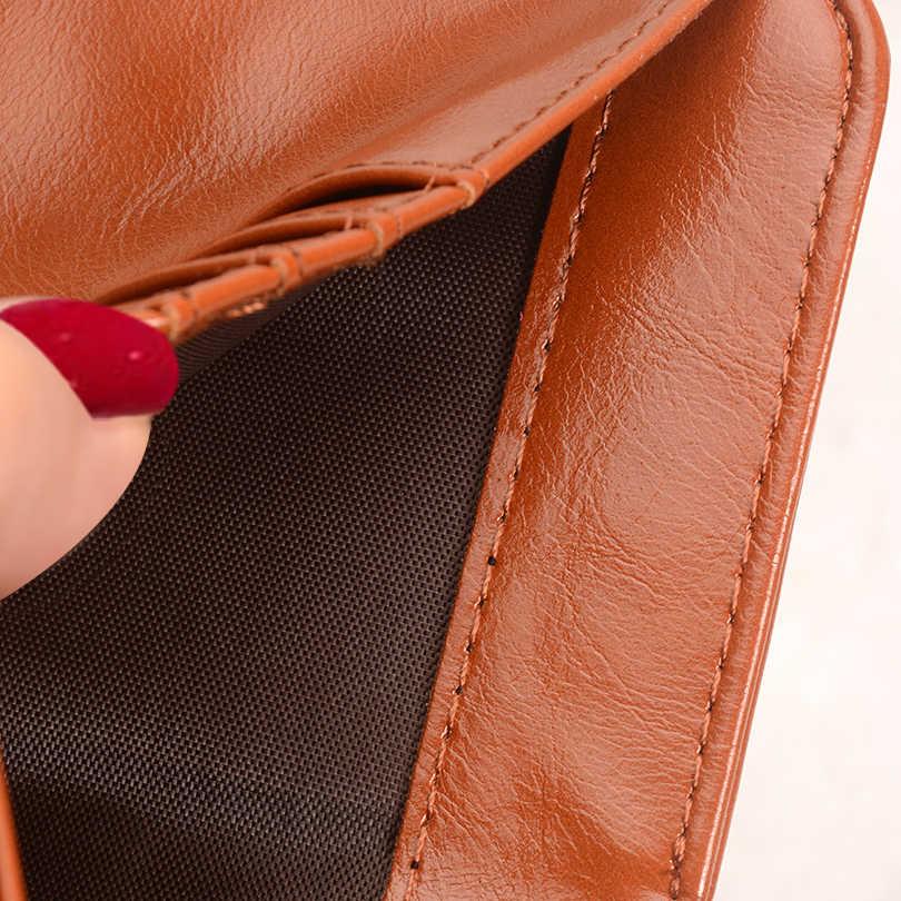 ¡COHEART cartera mujer moda monedero mujer billetera de cuero pu multifunción monedero pequeño dinero monedero de bolsillo de la moneda de calidad superior!