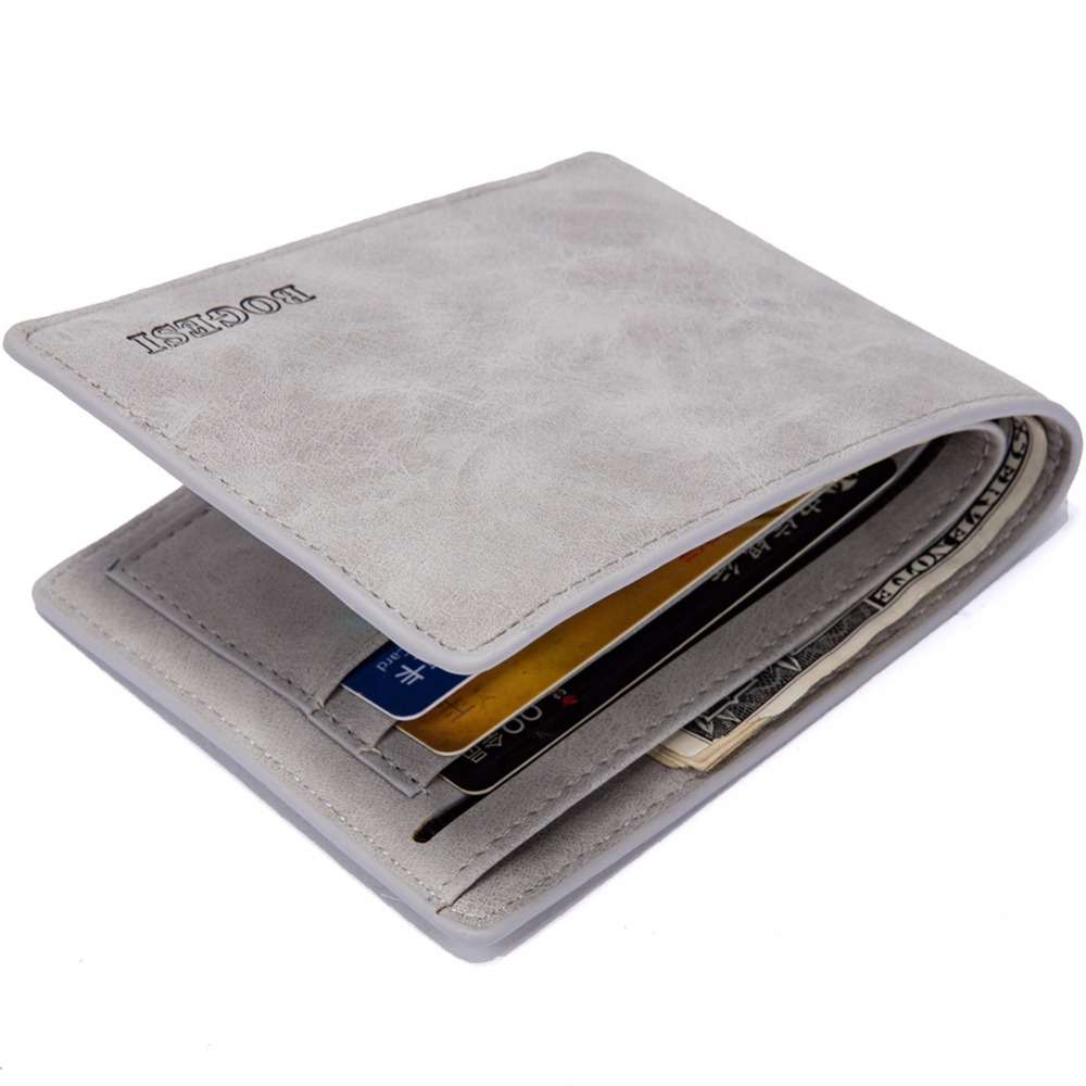 2018 New Design Wallet Purses Wallets for Men with Coin Pocket font b Money b font
