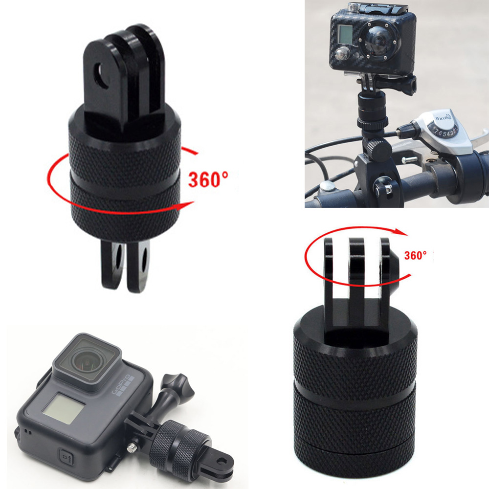 360 Degree Swivel Arm MOUNT Adapter for GoPro HERO 4 3 2 1 Camera Accessories.