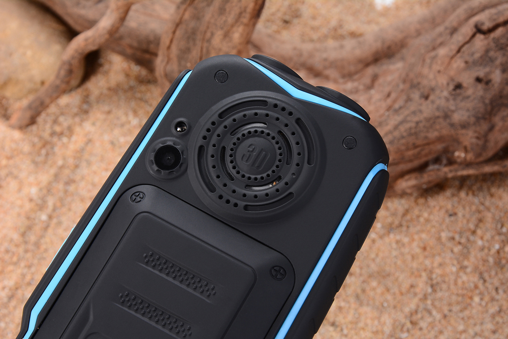KUH Rugged Outdoor Mobile Phone Long Standby Power Bank Vibration Bluetooth Dual Flashlight Shockproof 15800mAh Loud Speaker