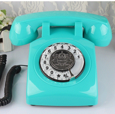 vintage antique telephone fashion home phone old fashioned rotary
