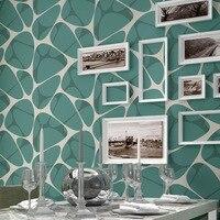 2016 New Abstract Geometric Wallpaper Roll Modern Wood Fiber Wallpaper For Walls 3 D Wallpapers In