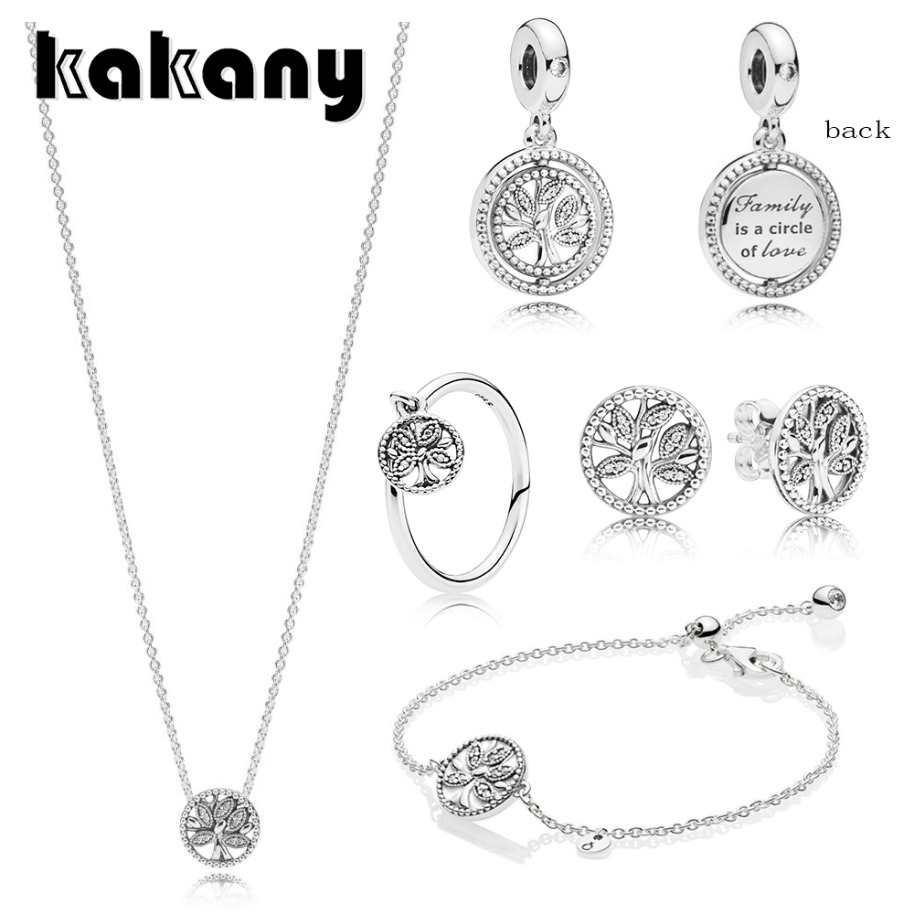KAKANY 2019 Spring Real 925 Sterling Silver European Tree of Life Set Shining Retro Collection Original DIY Glamour Jewelry     KAKANY 2019 Spring Real 925 Sterling Silver European Tree of Life Set Shining Retro Collection Original DIY Glamour Jewelry