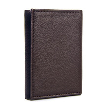 Vintage Men Wallets Leather PU Solid Trifold Slim Wallet Men Dollar Multi Credit Card Holders Male Small Short Clutch Purse famous brand leather wallets men casual solid short designer male purses with credit card holders dollar money bags for gifts
