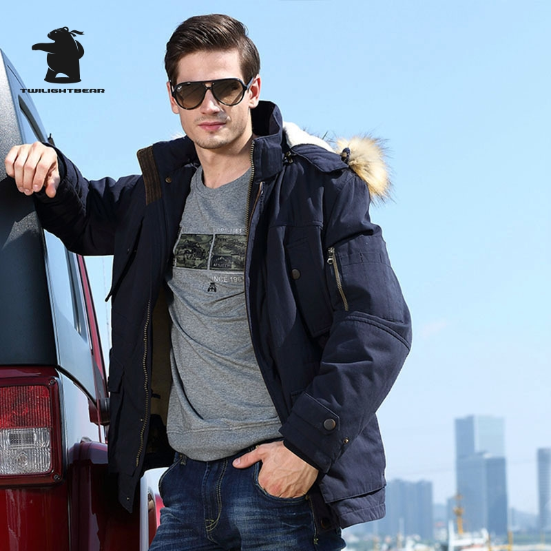 High Quality Brand Men s Casual Cotton Jacket New Fashion Thickening Winter Jacket Men Warm Coat