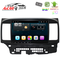 Android 7.1 10.1 Car DVD Player GPS Navigation system for MITSUBISHI Lancer 2007 2016 Bluetooth GPS Radio WIFI 4G Stereo